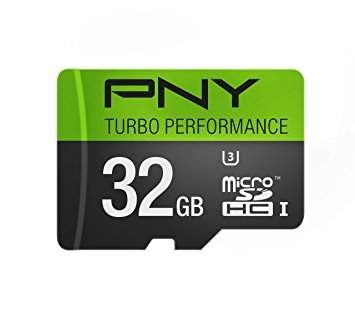 PNY Turbo Performance microSD card