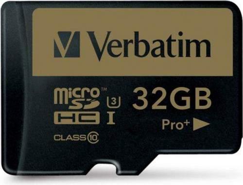 Verbatim Pro+ microSD