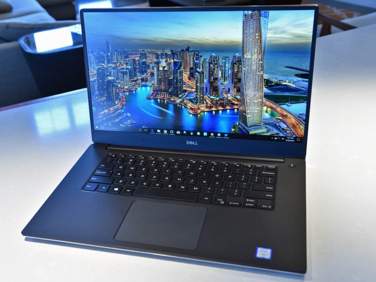 Test laptopa Dell XPS 15 9560