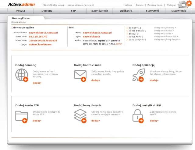 Nowy autoinstalator aplikacji w nazwa.pl umożliwia w zależności od wybranego planu hostingowego instalację od 60 do ponad 200 popularnych aplikacji webowych. Wszystko to za pomocą kilku kliknięć myszą.