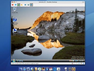 Windows pod Mac OS X