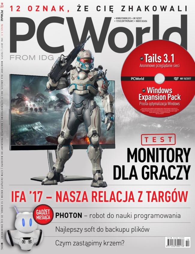 PCWorld 10/2017 - okładka wydania