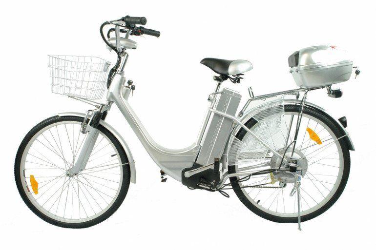 Luxus Elektro- City Bike
