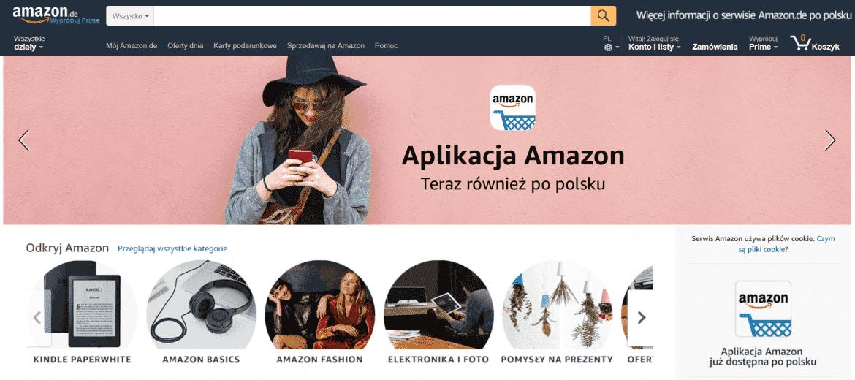 ad63327c4 Kupując w sklepie Amazon, możemy liczyć na atrakcyjne ceny, interesujące  promocje oraz dostęp do produktów, których nie mają inni sprzedawcy.