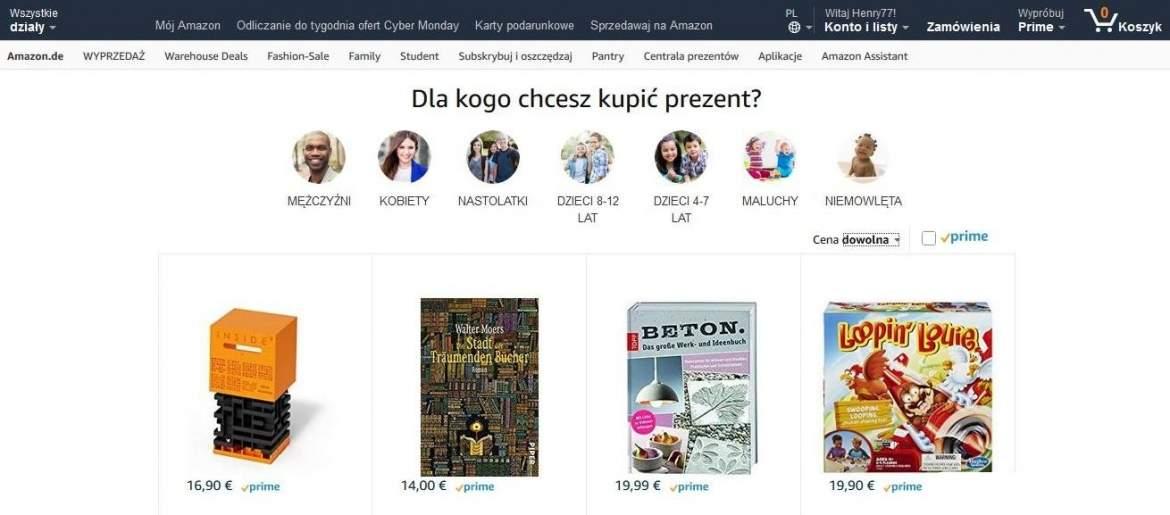 Centrala Prezentów Amazon