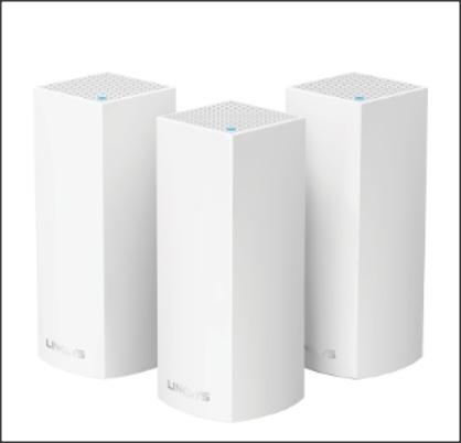 Modularne rozwiązanie Linksys Velop pozwala utworzyć domową sieć Wi-Fi złożoną z wymaganej liczby punktów dostępowych, komunikujących się bezpośrednio między sobą i niewymagających dodatkowego okablowania. Linksys Velop działa jako sieć kratowa.