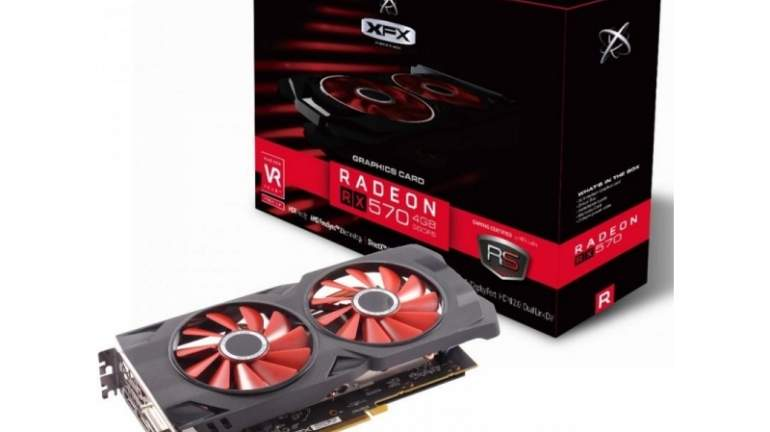 AMD Radeon RX 570 RS Black