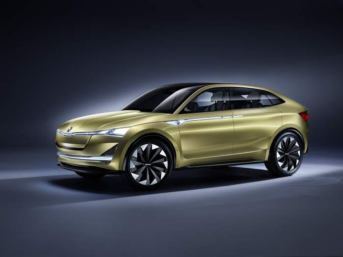 Już niebawem do producentów aut elektrycznych dołączy Skoda. Model Vision E trafi do salonów w 2020 roku.