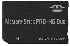 Karta pamięci Memory Stick Pro-HG