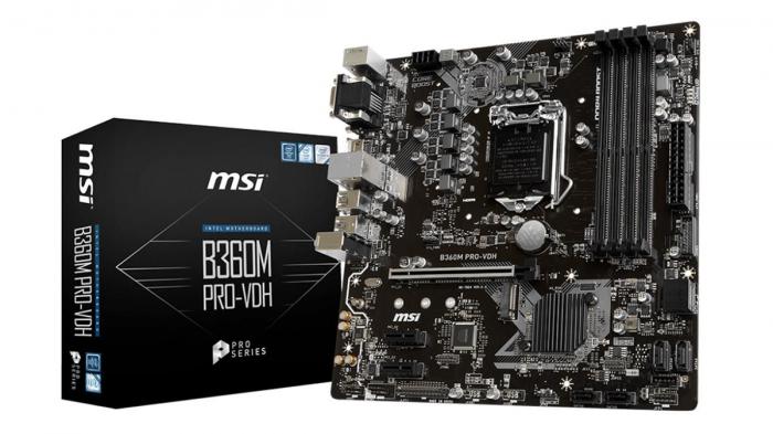 MSI B360M-PRO-VDH