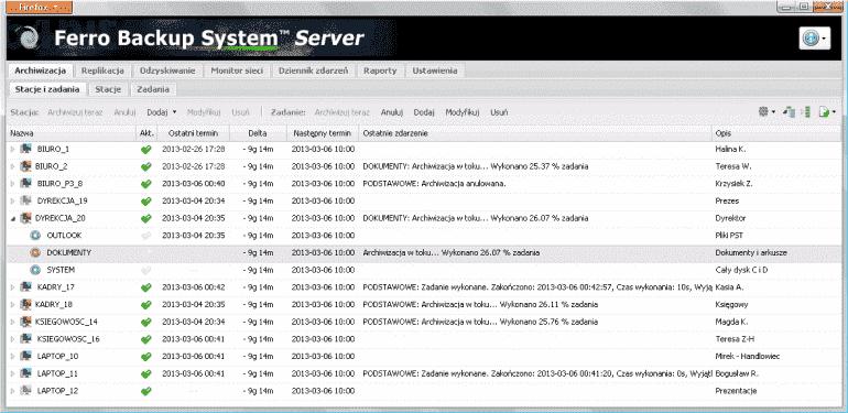 Ferro Backup System
