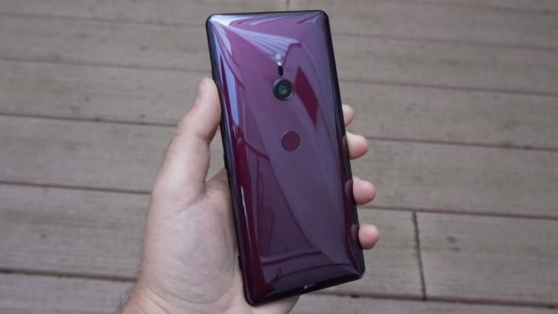 Sony Xperia XZ3 Red
