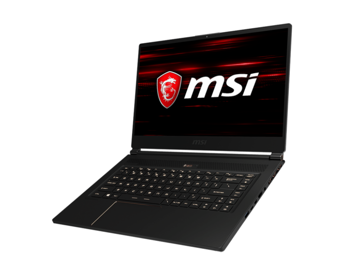 Laptop do gier typu Max-Q Design - MSI GS65 Stealth Thin