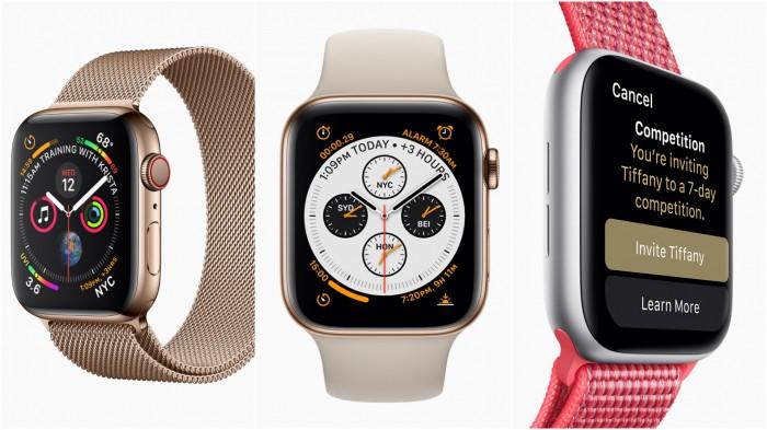 Apple Watch Series 4. Fot. Apple
