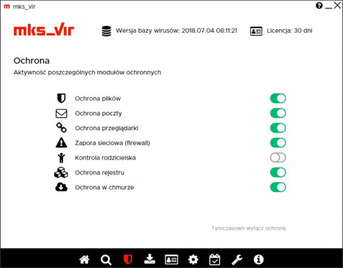 mks_vir Dom i Mała Firma - ustawienia
