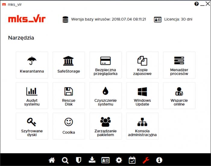 mks_vir Dom i Mała Firma - narzędzia dodatkowe