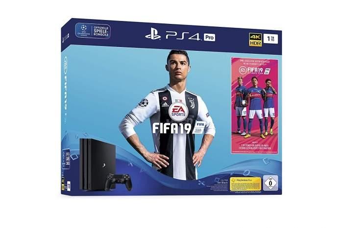 Konsola PlayStation 4 Pro + FIFA 19 + kontroler