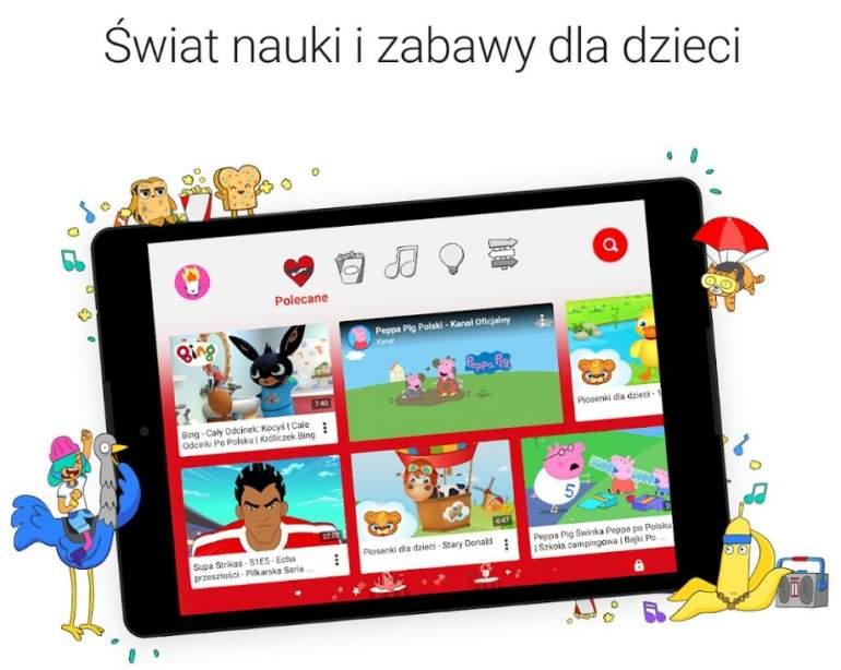 Youtube Kids Startuje W Polsce Tylko Wyselekcjonowane I Bezpieczne