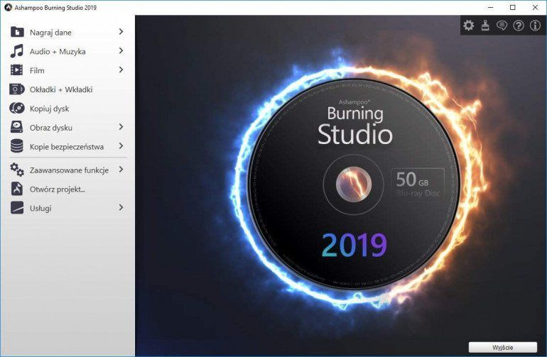 Ashampoo Burning Studio 2019 - pełna wersja za darmo!