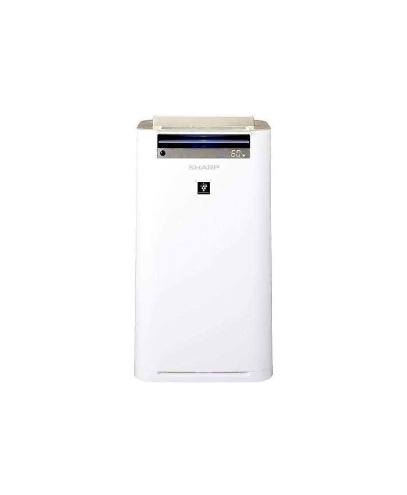 Sharp KC-G 60 EUW to wzorcowy przykład urządzenia autonomicznego. Do dyspozycji użytkownika oddano aż sześć funkcji pomiarowych obejmujących analizę temperatury, wilgotności, zanieczyszczeń, zapachów, ruchu i światła.