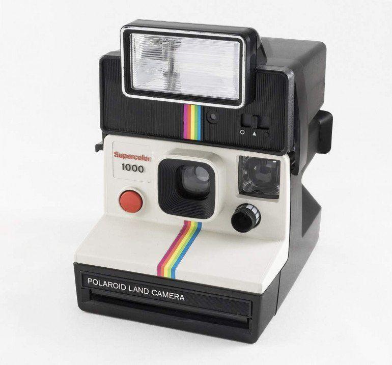 Ikona marki Polaroid, czyli model Supercolor 1000 Fot. Jacek Halicki, wikipedia.org