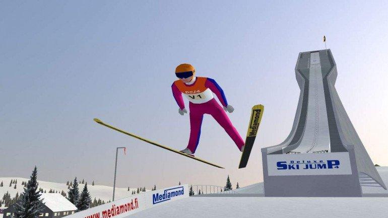 Deluxe Ski Jump 4 - skacz jak najlepsi!