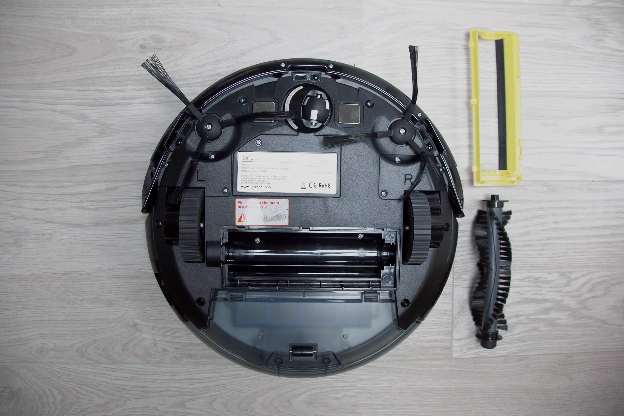 Konstrukcja robota ILIFE A8 została oparta na prostych i sprawdzonych rozwiązaniach.