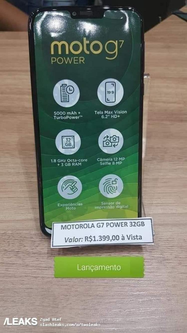 Moto G7 - data premiery, cena, specyfikacja