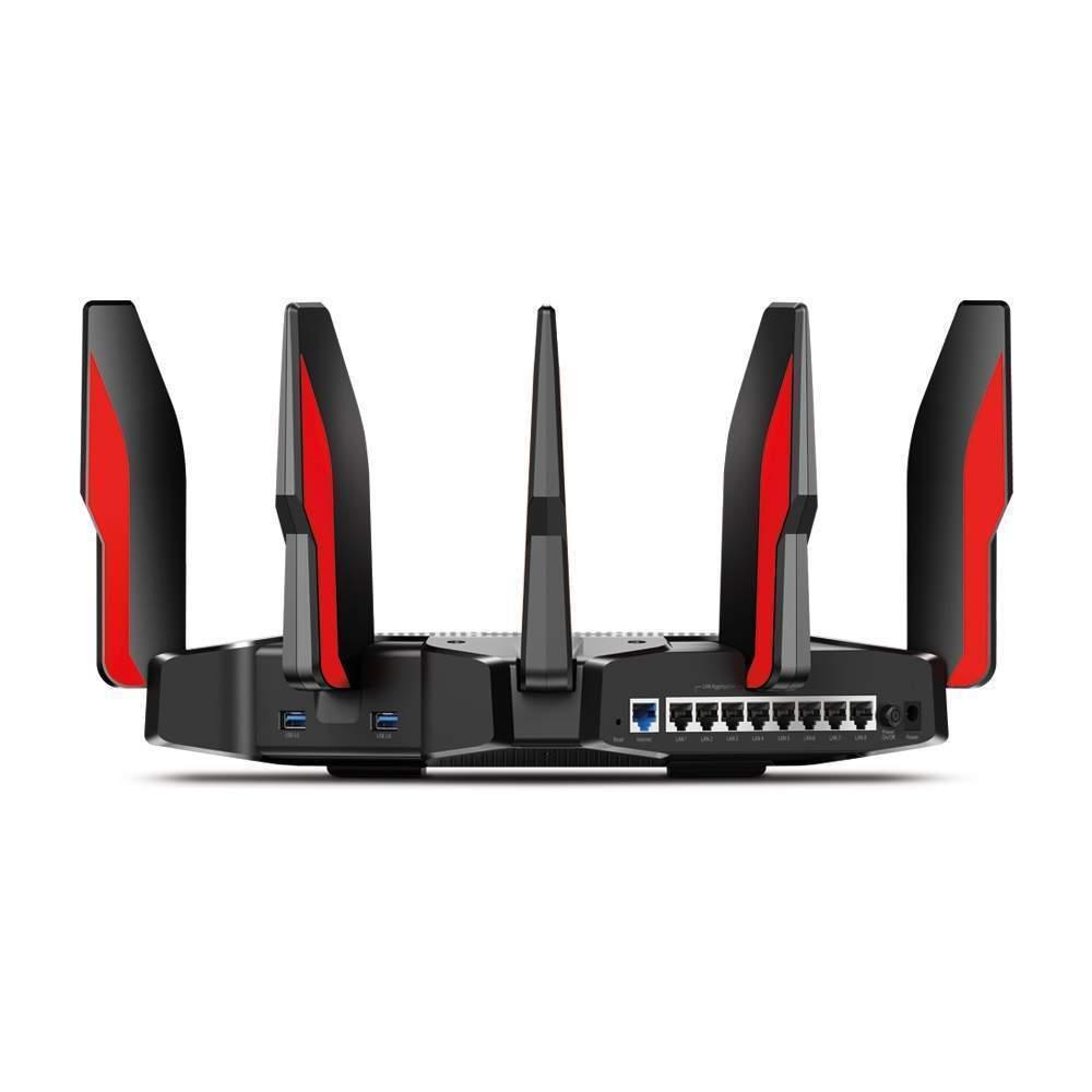 Nawet 8 złącz LAN i możliwość uzyskania transferu 2Gb/s to cechy wyróżniające router TP-Link Archer 5400X