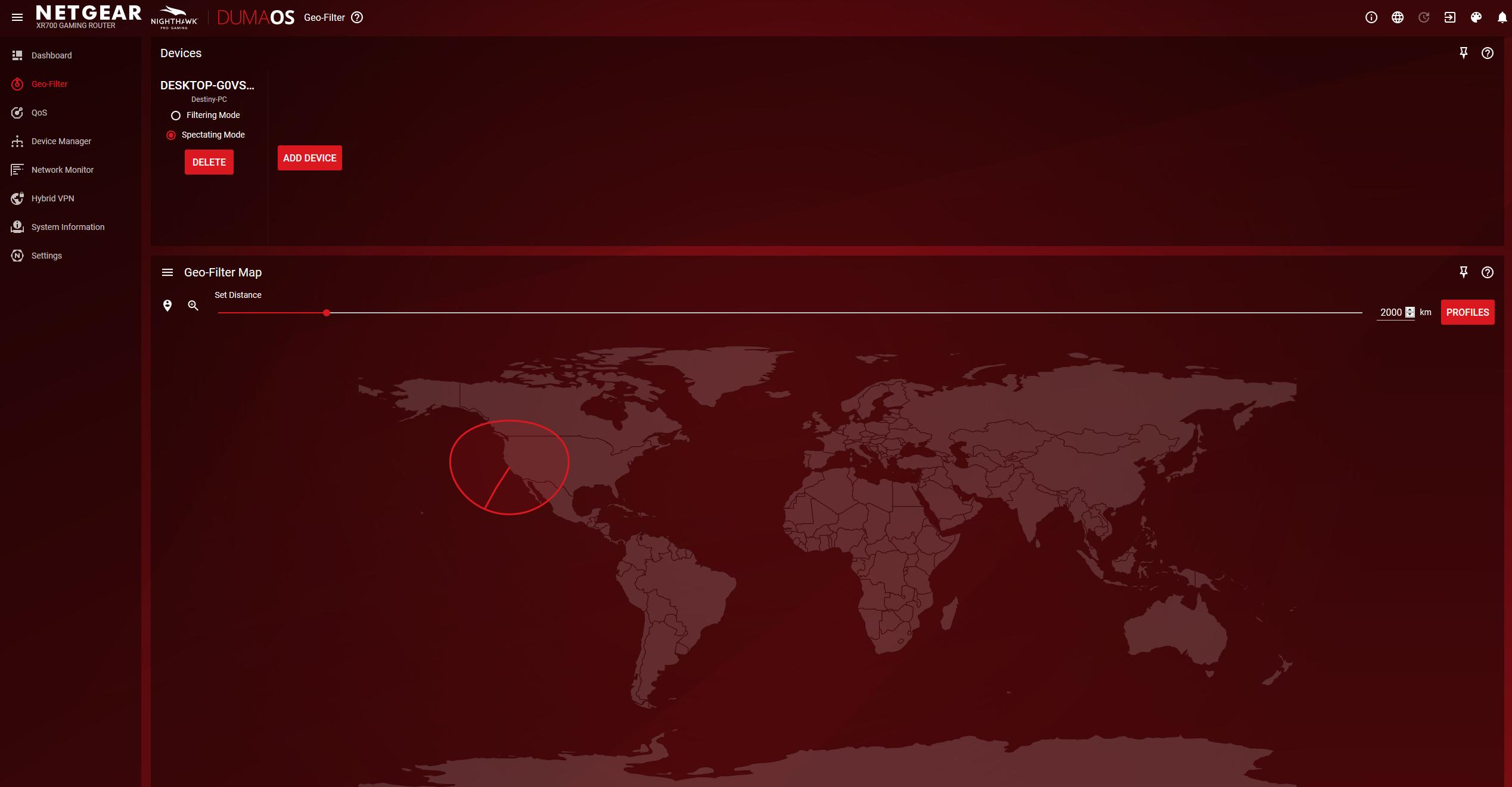 Oprogramowanie DumaOS odnajdziemy w routerach Netgear. Lista udogodnień obejmuje QOS, VPN i Geo-Filtr