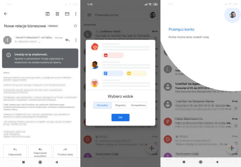 Nowy Gmail na Androida to nie tylko nowy wygląd, jak go zainstalować?