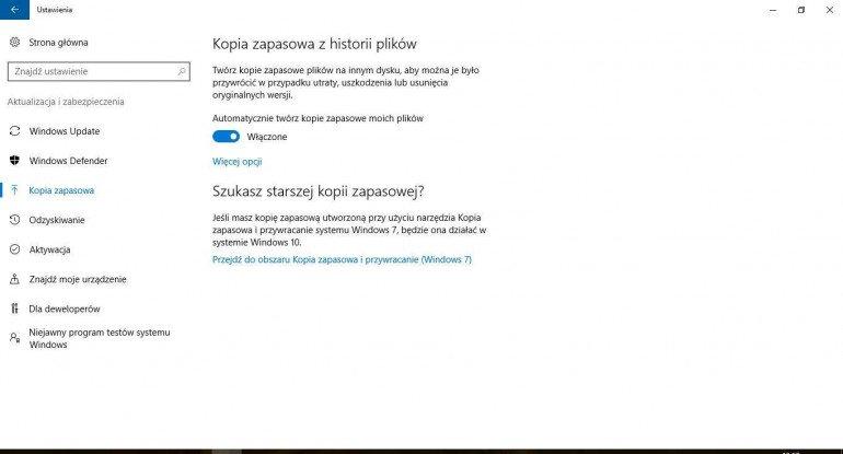 Jak wykonać kopię zapasową Windows 10?