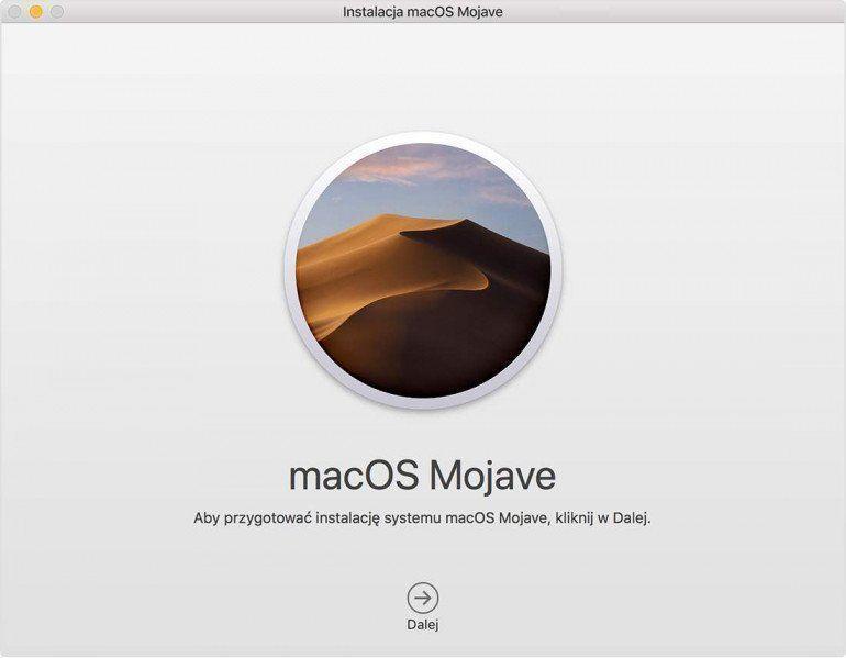 Instalacja macOS na zewnętrznym dysku