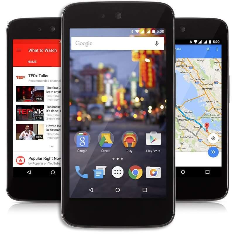 Aktualizacja do 5.0 Lollipop dla Android One Źródło: theandroidsoul.com