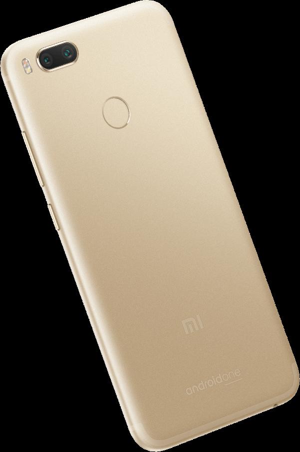 Xiaomi Mi A1 w wersji złotej Źródło: Mi.com