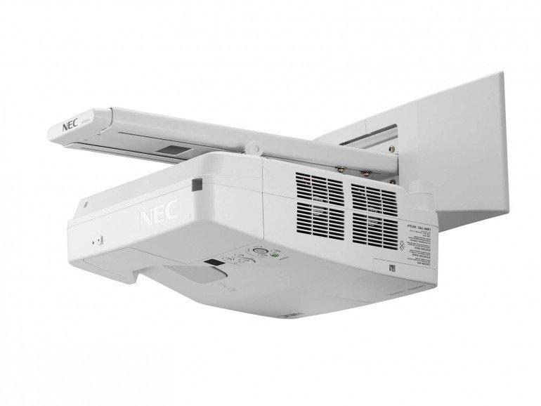 Projektory Nec Ultra-Short-Throw to idealny wybór do współpracy z tablicami interaktywnymi.