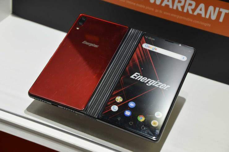 MWC 2019: Energizer prezentuje prototyp swojego składanego smartfona