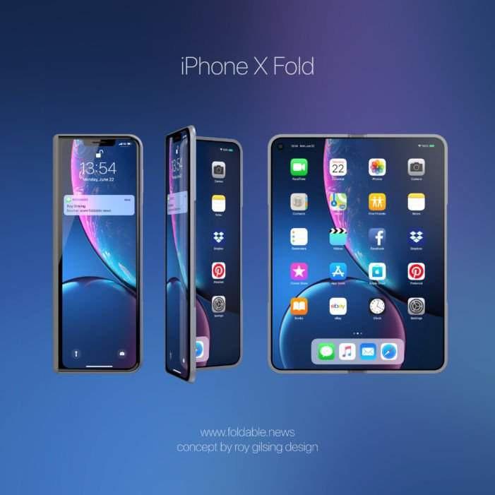 Składany iPhone w 2020 roku?