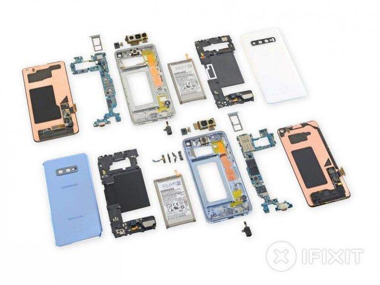 Samsung Galaxy S10 - z naprawą ważnych podzespołów będą problemy