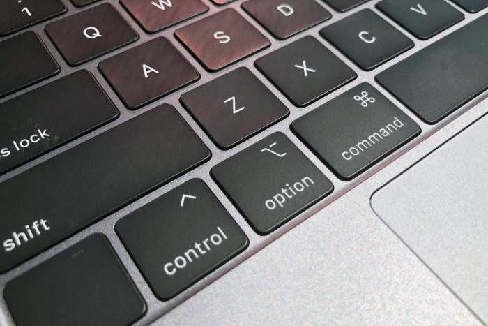 Klawiatura w nowym MacBook'u Pro z 2018 roku Źródło: macworld