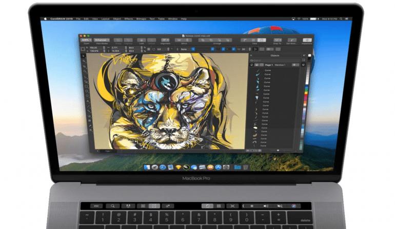 CorelDRAW dostępny na Mac'u po 18 latach