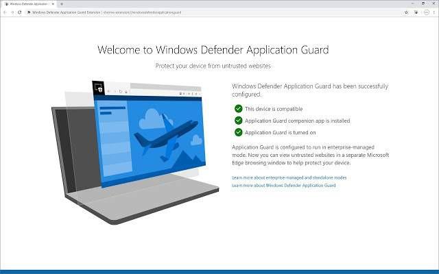 Windows Defender Application Guard jako dodatek do Chrome i Firefoxa