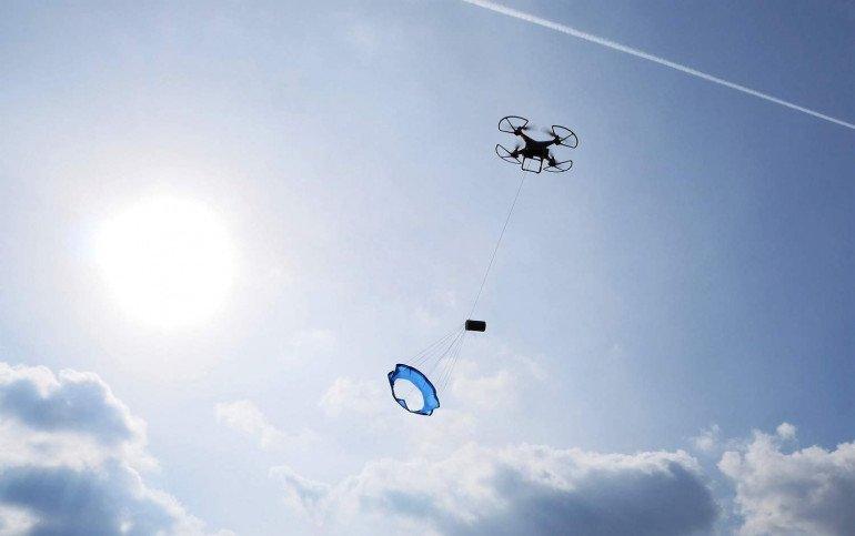 Testy satelity z użyciem drona