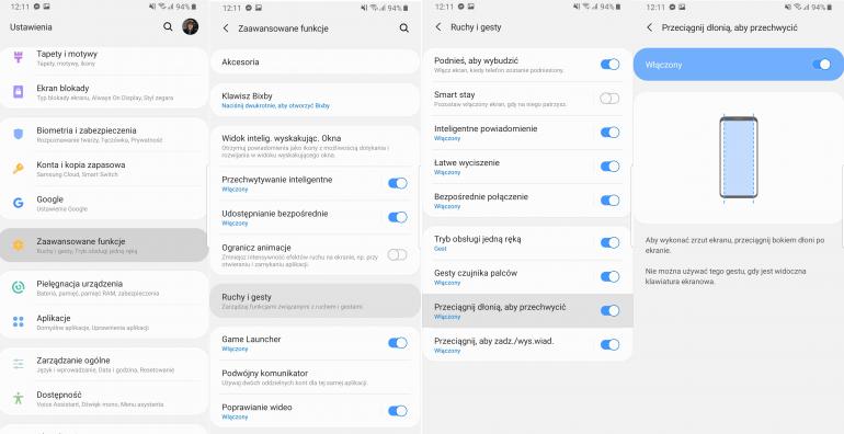Jak zrobić zrzut ekranu w Androidzie