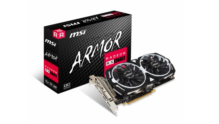 MSI Radeon RX 570 Armor OC 4G