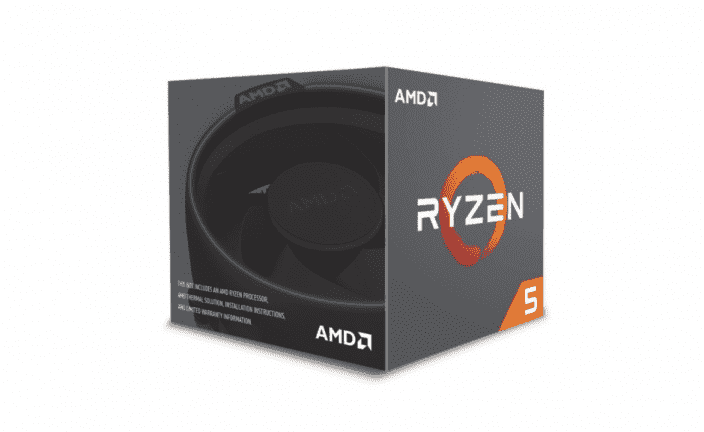 AMD Ryzen 5 2600 3,4GHz BOX