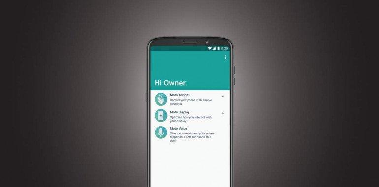 Motorola pomaga zmienić nawyki związane z telefonem