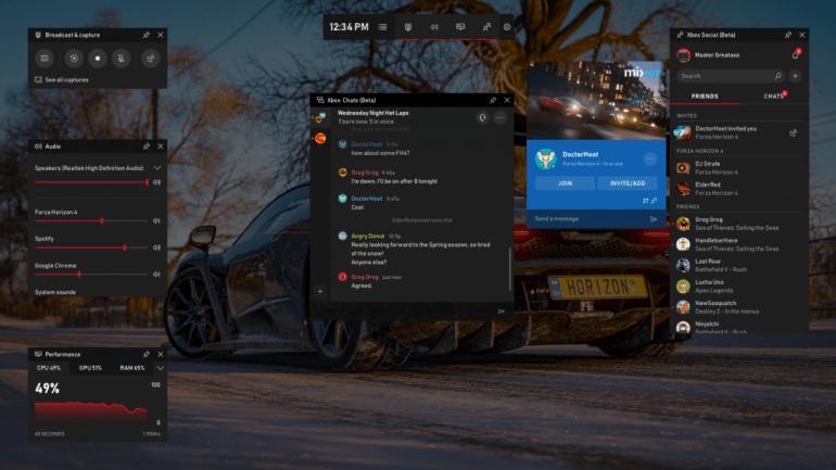 Windows 10: Pasek Gry otrzymał praktyczne narzędzia