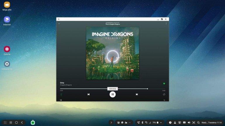 Spotify w DeX