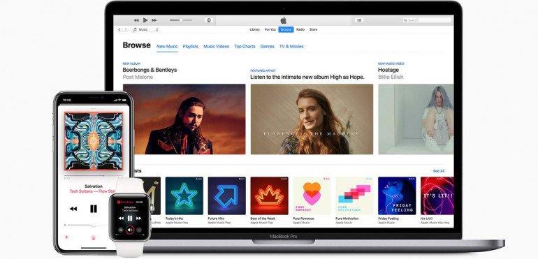 Spotify rządzi, ale Apple Music rośnie w siłę